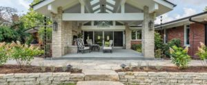 yard and patio landscaping